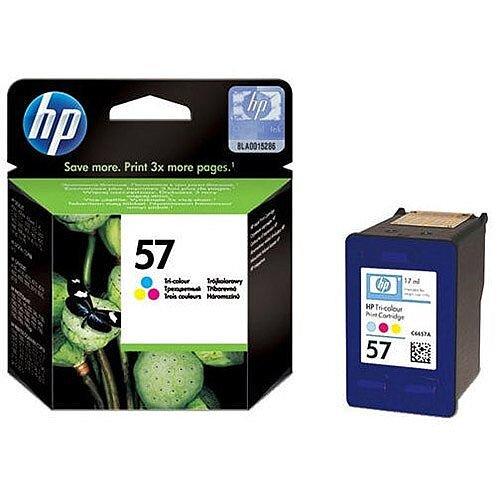 HP 57 Tri-colour Inkjet Cartridge 17ml C6657AE