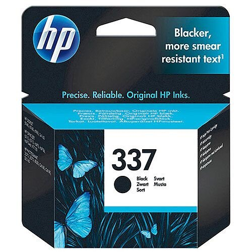 HP 337 Black Inkjet Cartridge C9364EE