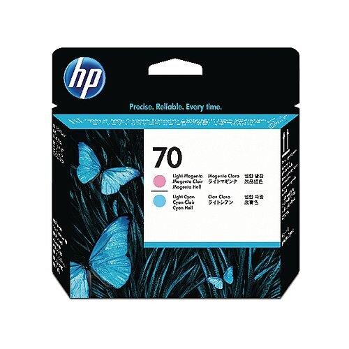HP 70 Light Cyan/Light Magenta Print Head Twin Pack C9405A