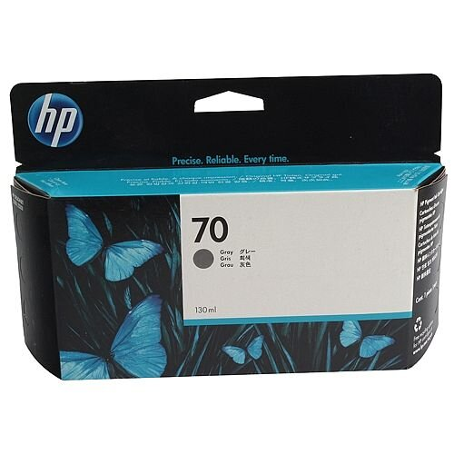 Hewlett Packard No70 Inkjet Cartridge 130ml Grey C9450A