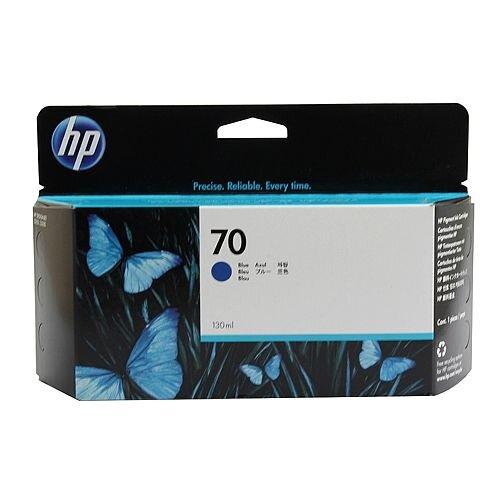 Hewlett Packard No70 Inkjet Cartridge 130ml Blue C9458A
