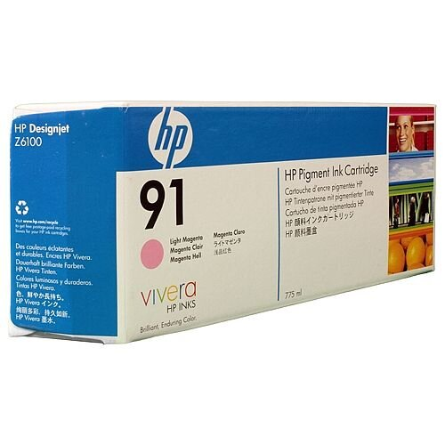 HP No 91 Light Magenta Inkjet Cartridge C9471A
