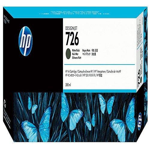 HP Matte Black 726 Designjet Ink Cartridge 300ml CH575A