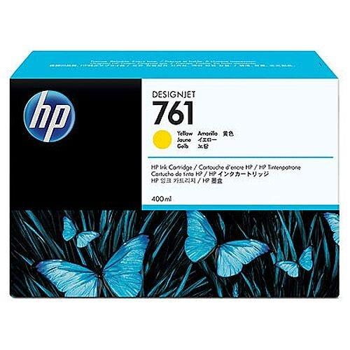 Hewlett Packard No761 Design Jet Inkjet Cartridge 400ml Yellow CM992A