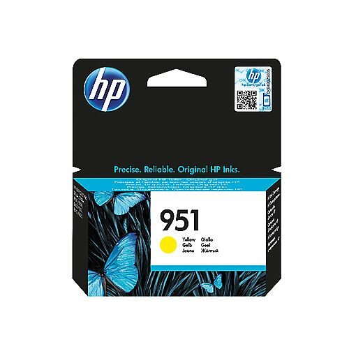 HP 951 Original Inkjet Cartridge Yellow CN052AE