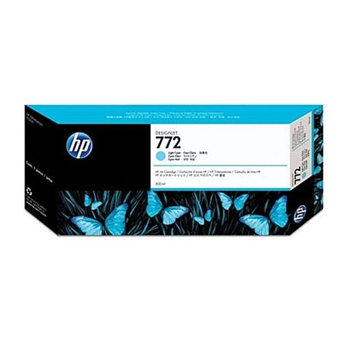 Hewlett Packard No772 Design Jet Inkjet Cartridge 300ml Light Cyan CN632A
