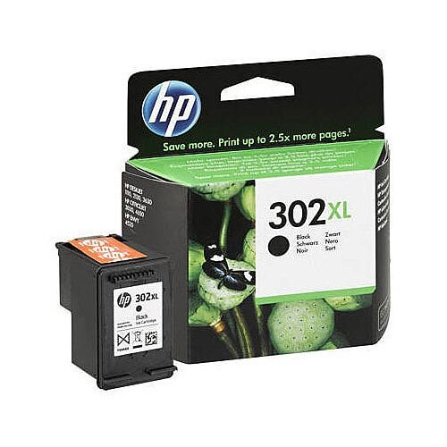 HP 302XL Black Original Ink Cartridge F6U68AE