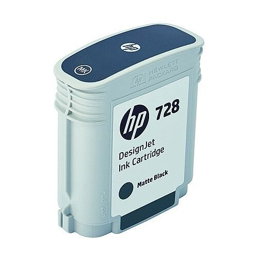 HP 728 69ml DesignJet Ink Cartridge Matte Black F9J64A