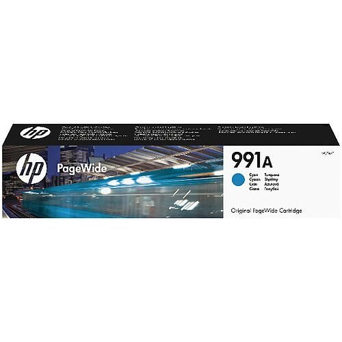HP 991A Cyan Original PageWide Cartridge M0J74AE