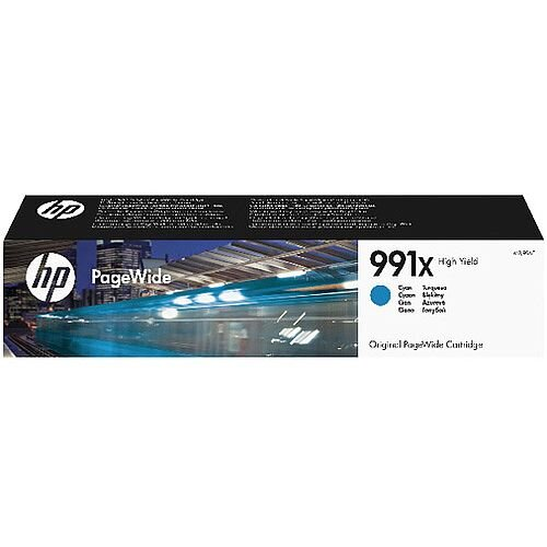 HP 991X High Yield Cyan Original PageWide Cartridge M0J90AE
