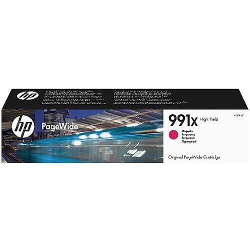 HP 991X High Yield Magenta Original PageWide Cartridge M0J94AE