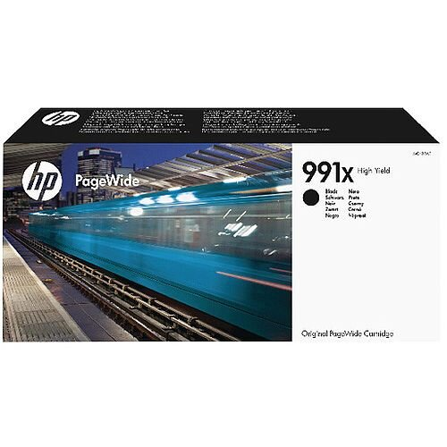 HP 991X High Yield Black Original PageWide Cartridge M0K02AE