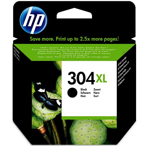 HP 304XL Black Ink Cartridge N9K08AE#BGX