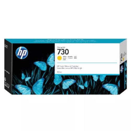 HP 730 300ml Yellow DesignJet Ink Cartridge P2V70A