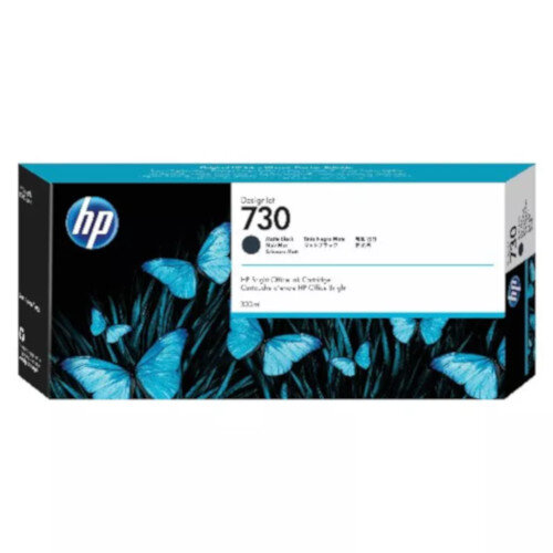 HP 730 300ml Matte Black DesignJet Ink Cartridge P2V71A