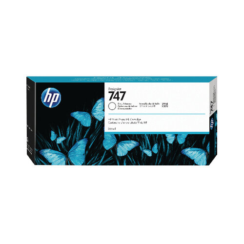 HP 747 300ml Gloss Enhancer Cartridge P2V87A