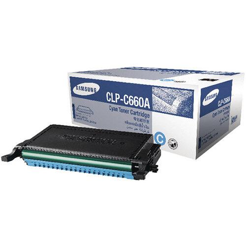 Samsung CLP-C660A Cyan Standard Yield Toner Cartridge ST880A