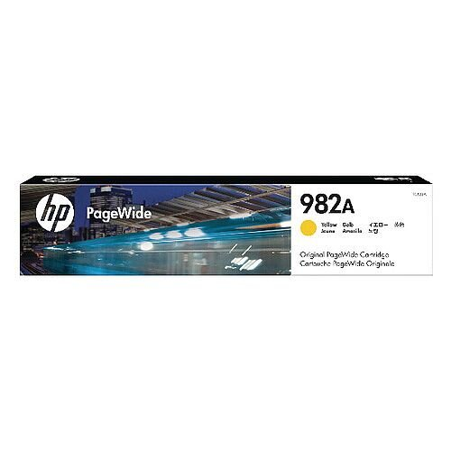 HP Original 982A Yellow PageWide Cartridge T0B25A