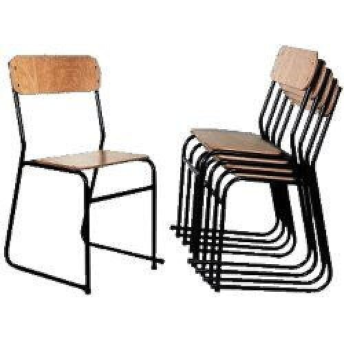 Traditional Plywood Seat &Back Chair