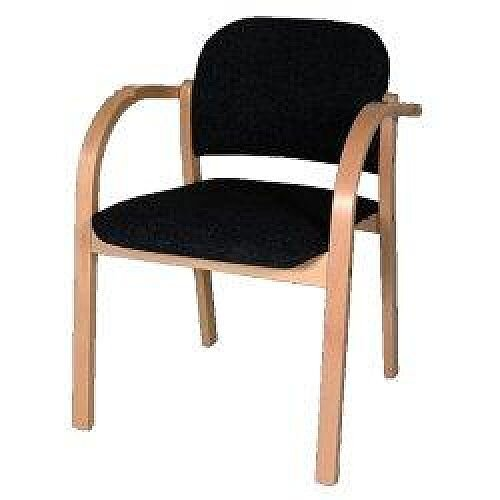 Bentwood Chair Charcoal Fabric