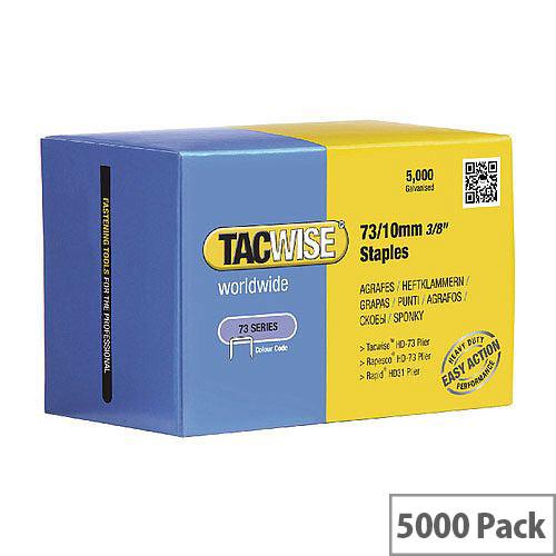Rapesco 73/10mm Staples Pack of 5000 0456