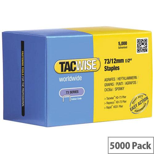 Rapesco 73/12mm Staples Pack of 5000 0457