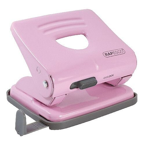 Rapesco 825 Candy Pink 2 Hole Metal Punch 1358
