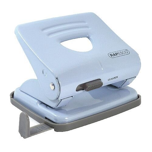Rapesco 825 Powder Blue 2 Hole Metal Punch 1359
