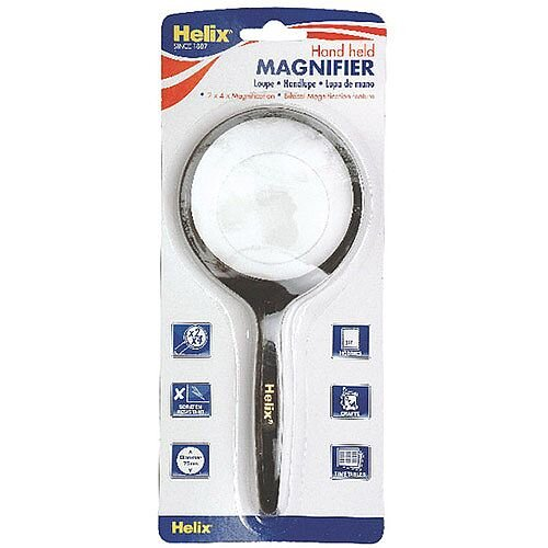 Helix Hand Held Magnifier 75mm