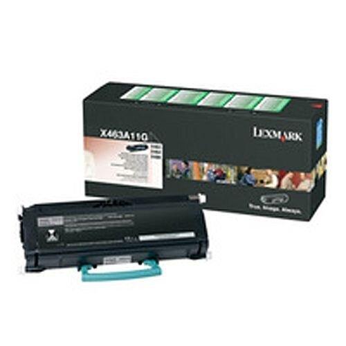 Lexmark Return Programme X46X 3.5K Toner Black X463A11G