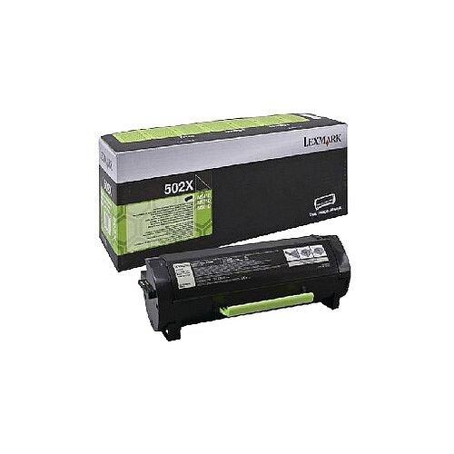 Lexmark 502X Extra High Yield Black Return Program Toner Cartridge 50F2X0E