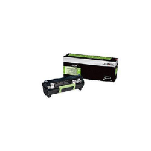 Lexmark 512H Black Return Program Toner Cartridge High Capacity 51F2H00
