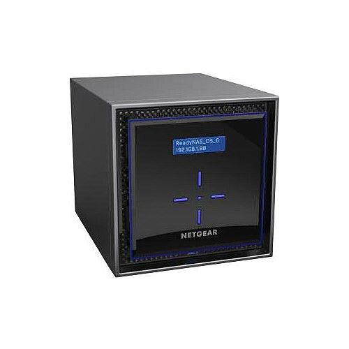 Netgear ReadyNAS RN424D2 4 x Total Bays SAN/NAS Storage System Desktop Intel Atom C3338 Dual-core 2 Core 1.50 GHz 4 x HDD Supported 4 x HDD Installed 8 TB Installed HDD Capacity 4 x 2 TB