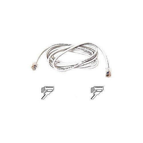 Belkin Category 5e Network Cable for Network Device 1 m 1 Pack 1 x RJ-45 Male Network 1 x RJ-45 Male Network Patch Cable White