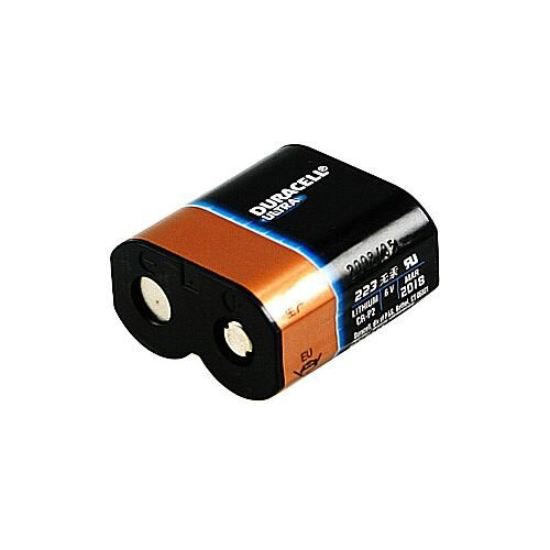 Duracell DL223A Camera Battery Lithium Ion 6 V DC Rechargeable