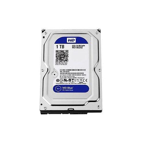 WD Blue WD10EZRZ 1 TB 3.5in Internal Hard Drive SATA 5400rpm 64 MB Buffer Blue