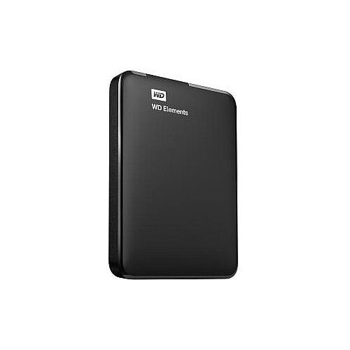 WD Elements WDBUZG7500ABK 750 GB External Hard Drive USB 3.0 Portable Retail