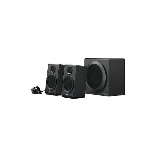 Logitech Z333 2.1 Speaker System 40 W RMS Black 55 Hz 20 kHz Control Pod Remote