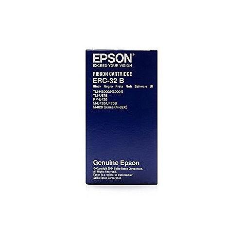 Epson ERC-32B Ribbon Cartridge Black Laser C43S015371