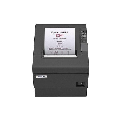 Epson TM-T88IV Direct Thermal Printer Monochrome Desktop Receipt Print 72mm 2.83in Print Width 200 mm/s Mono 180 x 180 dpi 4 KB Serial 80mm Label Width