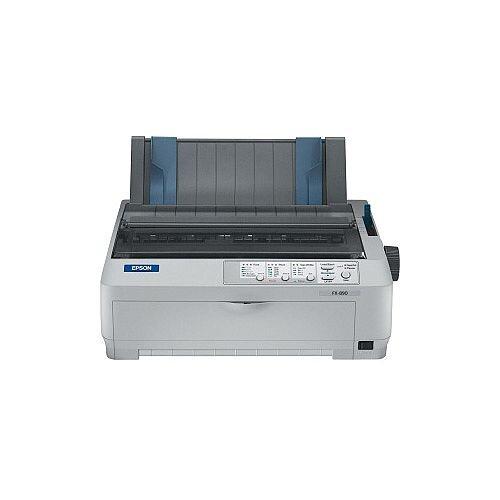 Epson FX-890 Dot Matrix Printer Monochrome 9-pin 80 Column 680 Mono 240 x 144 dpi USB Parallel