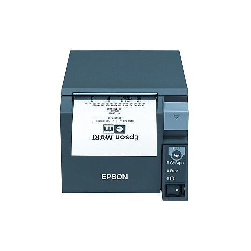 Epson TM- T70II Direct Thermal Printer Monochrome Desktop Receipt Print 250 mm/s Mono 180 x 180 dpi 4 KB USB Serial 79.50mm Label Width