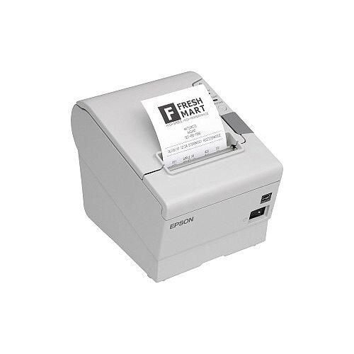 Epson TM- T88V Direct Thermal Printer Monochrome Desktop Receipt Print 300 mm/s Mono 180 x 180 dpi 4 KB USB Serial 79.50mm Label Width