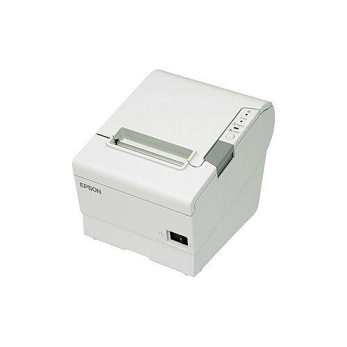 Epson TM-T88V Direct Thermal Printer Monochrome Desktop Receipt Print 300 mm/s Mono 180 x 180 dpi 4 KB Wireless LAN Serial 79.50mm Label Width