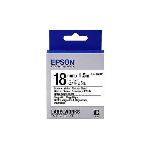 Epson Label Tape 6mm Width x 9m Length White C53S655001