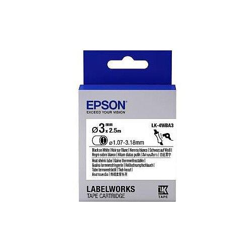 Epson Label Tape 6mm Width x 9m Length White C53S654903