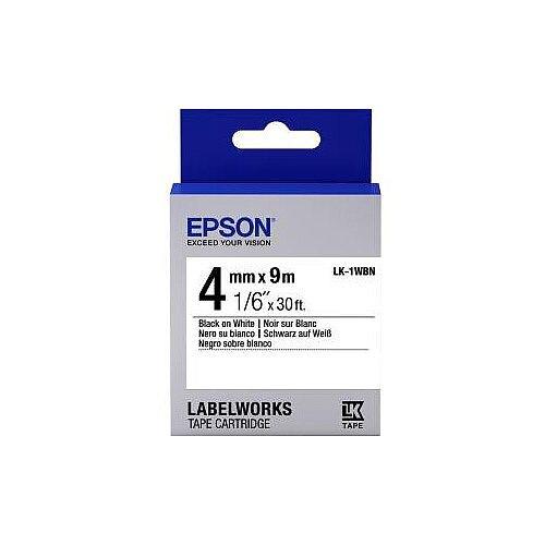 Epson Label Tape 6mm Width x 9m Length White C53S651001