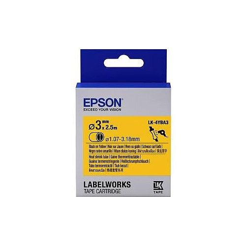 Epson Label Tape 6mm Width x 9m Length White C53S654905