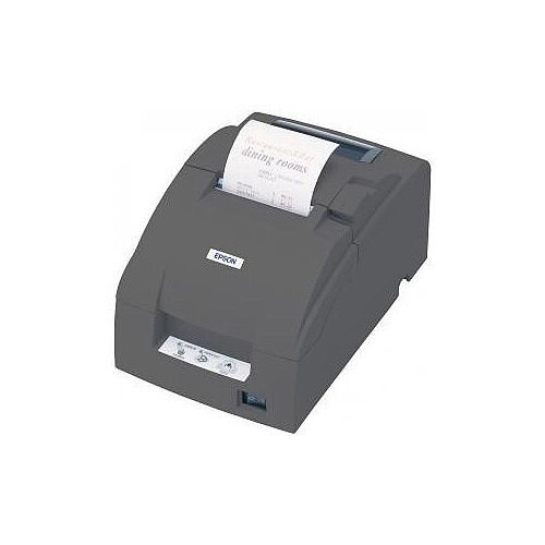 Epson TM-U220B Dot Matrix Printer Monochrome Desktop Receipt Print 63.40mm 2.50in Print Width 6 lps Mono 180 dpi 4 KB 76mm Label Width