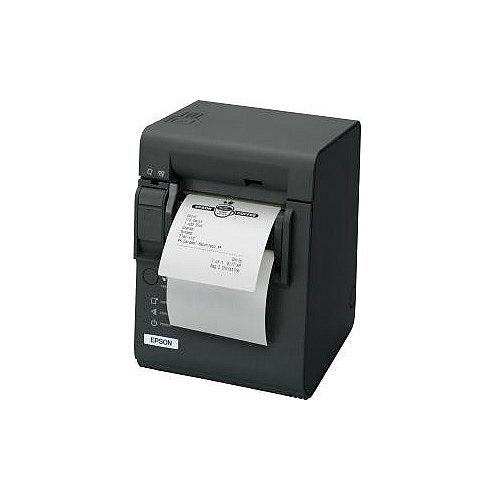 Epson TM-L90 Direct Thermal Printer Monochrome Desktop Receipt Print 80mm 3.15in Print Width 150 mm/s Mono 203 x 203 dpi 45 Byte USB Ethernet